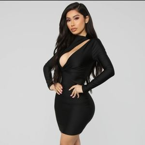 Only Here Tonight Cut Out Dress